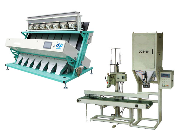 Color Sorter & Packing Machine
